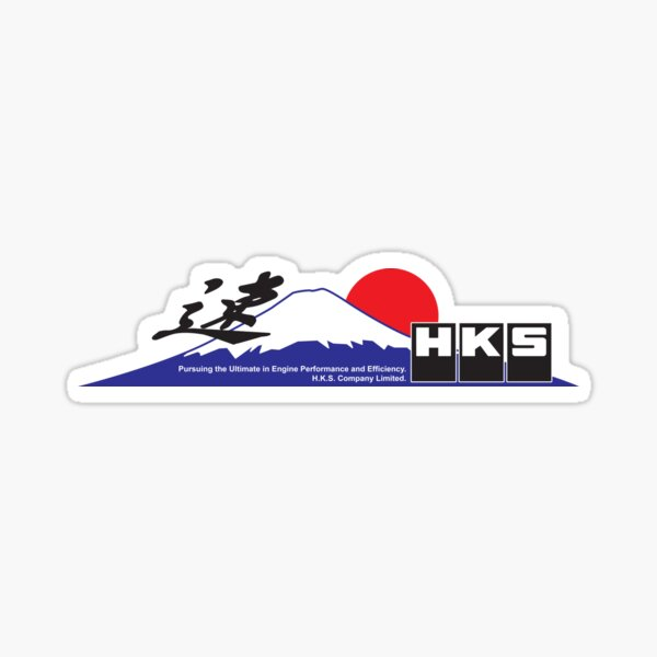HKS Fujiyama Pegatina
