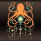 Timeless Octopus - Orange by Bianca Loran
