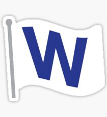Fly The W Sticker