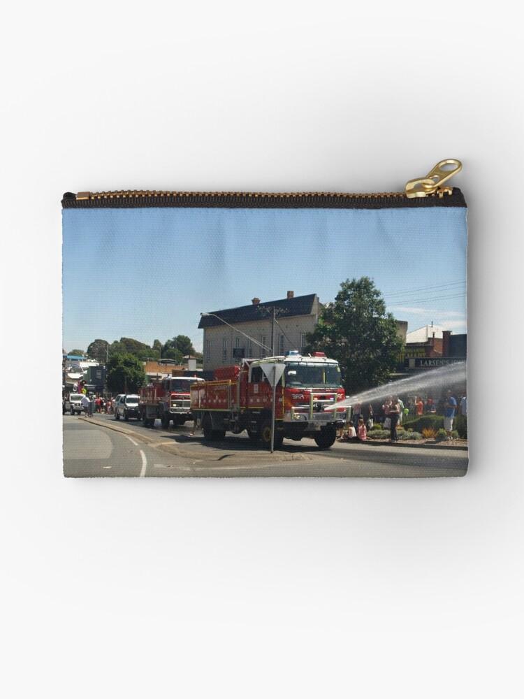 Longwarry firebrigade - Drouin Ficifolia Festival  by Bev Pascoe