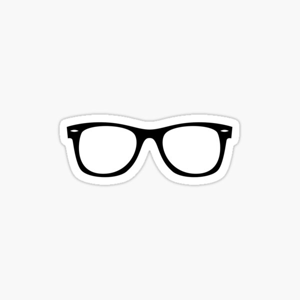 Glasses Sticker
