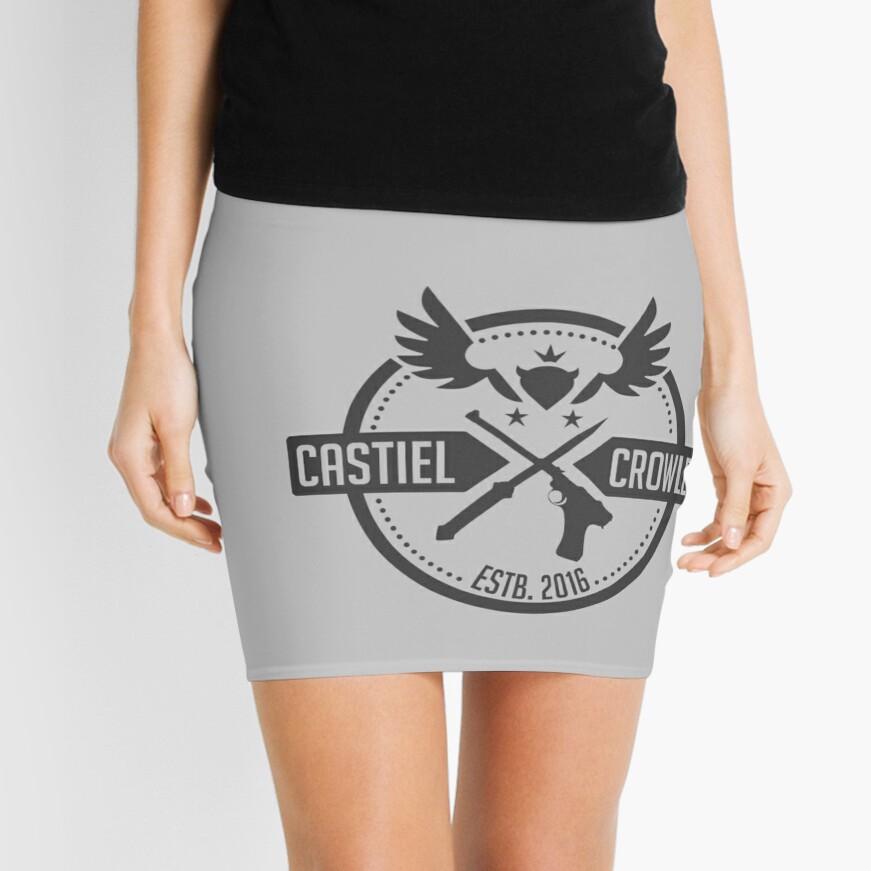 Castiel & Crowley Investigators Mini Skirt