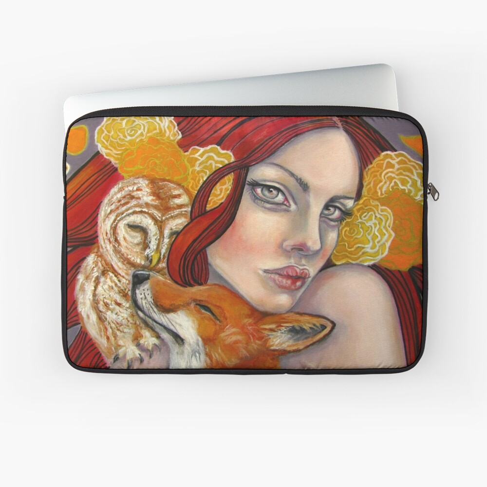 Shelter from the Storm Laptop Sleeve