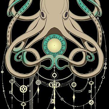 Timeless Octopus - Grey by BiancaLoran