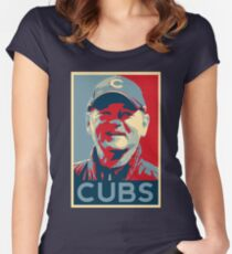 Bill Murray Chicago Cubs Women's Fitted Scoop T-Shirt