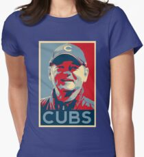 Bill Murray Chicago Cubs Womens Fitted T-Shirt