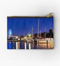 """""""Evening At The Marina"""" Studio Pouch"""