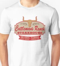 """Cattleman's Ranch Steakhouse"" -  as seen on ""Fresh Off The Boat"" T-Shirt"
