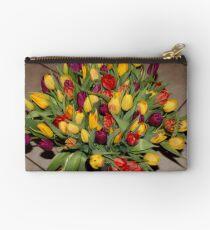 An Ocean Full Of Tulips II Studio Pouch