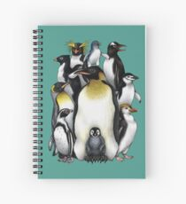 Penguin Obsession Spiral Notebook