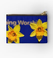 Worships The Daffodils Studio Pouch