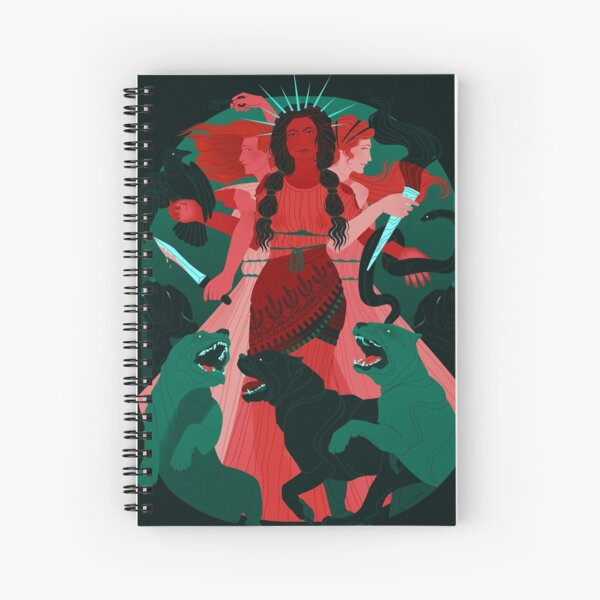 Hecate Spiral Notebook