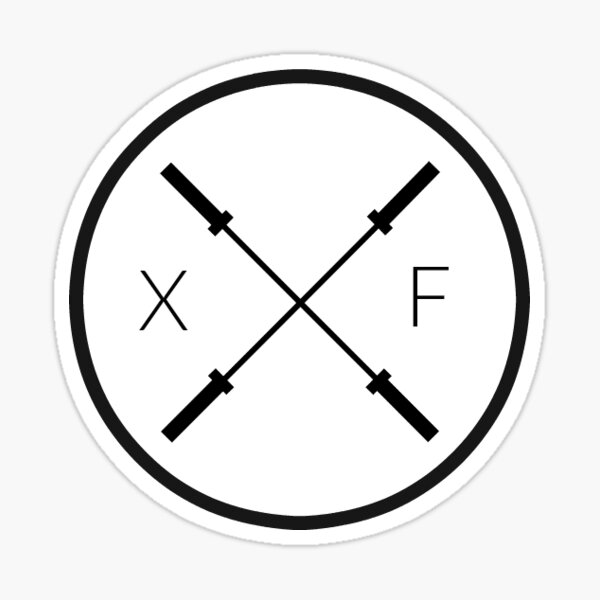 Xfit Life Logo Sticker