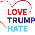 «Love Trumps Hate» de Hannah Byers