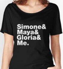 Simone Maya Gloria & Me Women's Relaxed Fit T-Shirt