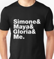 Simone Maya Gloria & Me Unisex T-Shirt