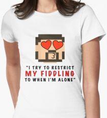 My Fiddling Women's Fitted T-Shirt