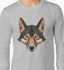 Wolf Portrait Long Sleeve T-Shirt