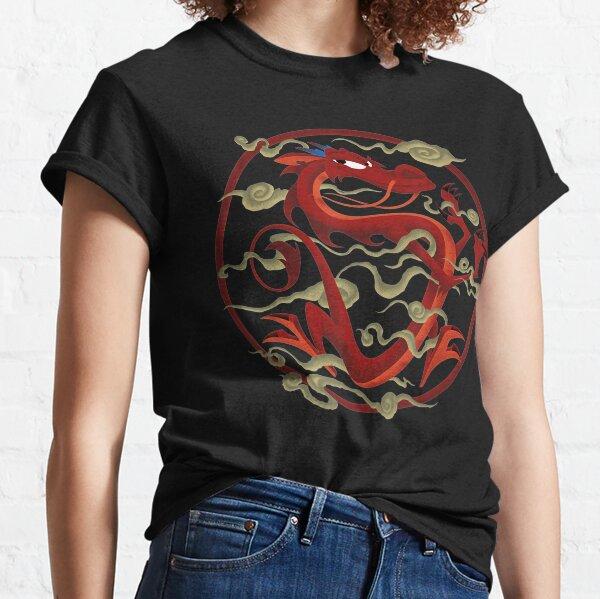 Mushu Dragon Inner Circle Graphic Classic T-Shirt