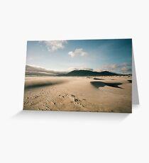 Windblown Dunes, Nehalem Greeting Card