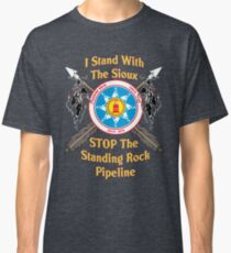 Standing Rock Sioux Crossed Arrows Classic T-Shirt