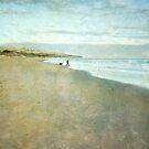 Beach walk by Jill Ferry