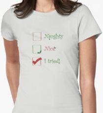 Naughty? Nice? - I tried! T-Shirt
