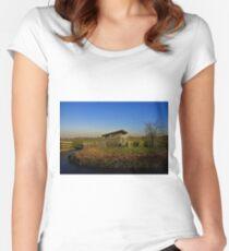 Dutch Landscape Women's Fitted Scoop T-Shirt