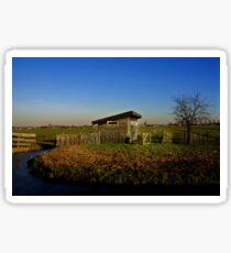 Dutch Landscape Sticker