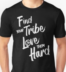 Find Your Tribe - BDSM Triskelion WHITE Unisex T-Shirt
