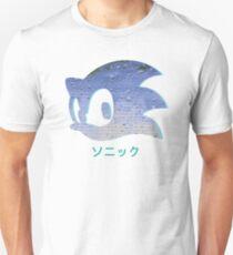 Sonic Aesthetic - Vaporwave T-Shirt