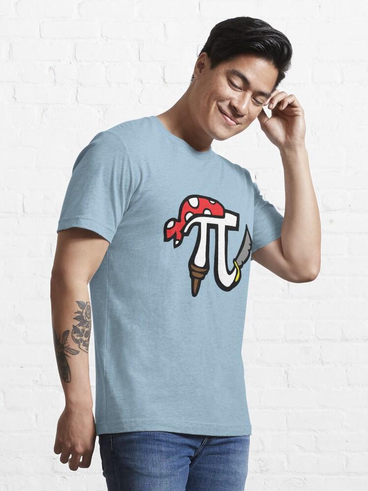 Alternate view of Pi Pirate Essential T-Shirt