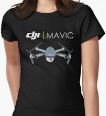 Dji Mavic Pro Womens Fitted T-Shirt