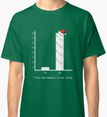 Christmas Carol Math Bar Graph Classic T-Shirt