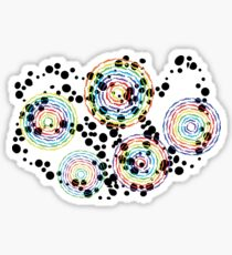Whirling Women of Color Sticker