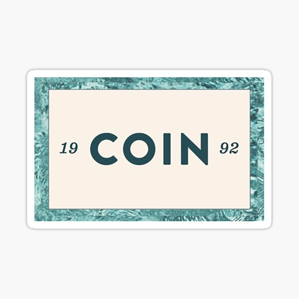 Coin 1992 Sticker