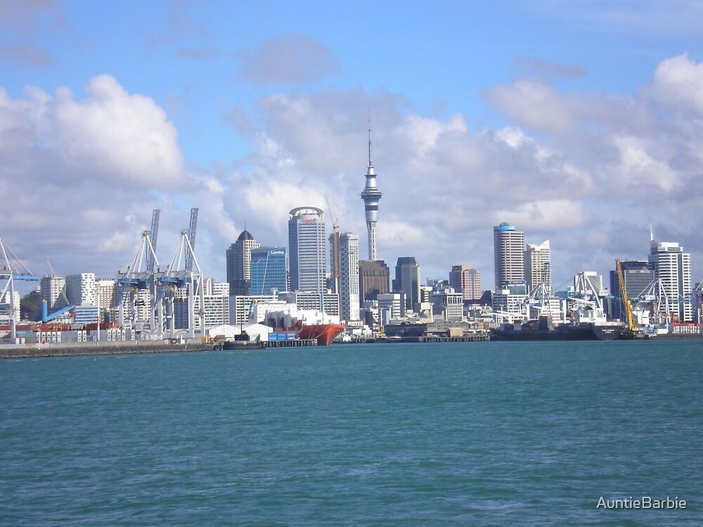 Ocean's view of Auckland by AuntieBarbie