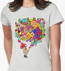 Mushroom Jizz Women's Fitted T-Shirt