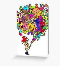 Mushroom Jizz Greeting Card