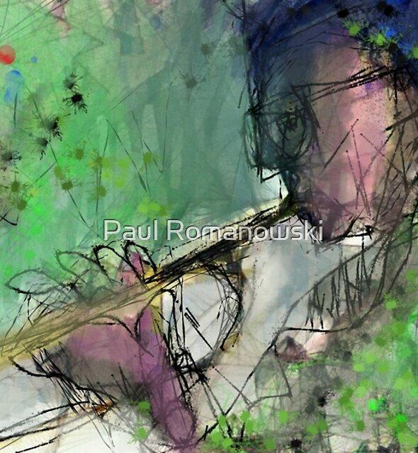 TRUMPET PLAYER(C2016)  (NOT MILES) by Paul Romanowski