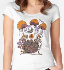 The Snail House Women's Fitted Scoop T-Shirt