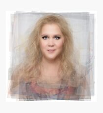 Amy Schumer Portrait Photographic Print