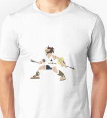 Pixel Silhouette: Pit T-Shirt
