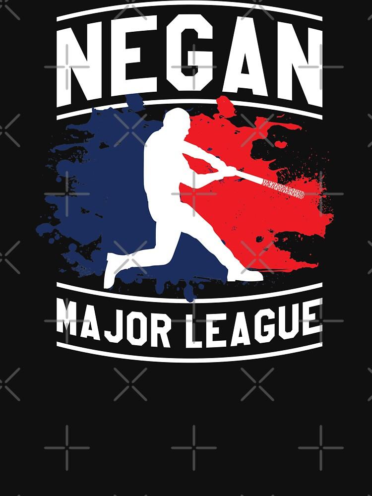Negan Major League Baseball Lucille Walking Dead von japdua