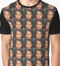 Miley Cyrus as a Baby Graphic T-Shirt