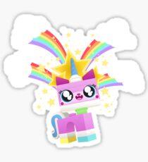 Princess Unikitty YAY! Sticker