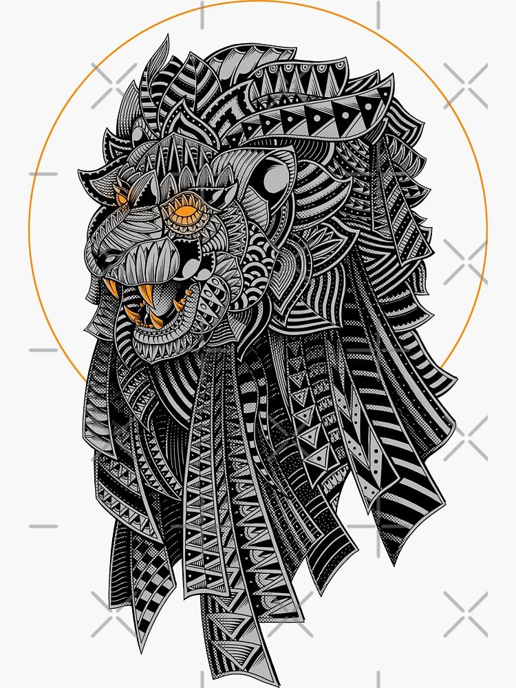 Barbarian Lion by GODZILLARGE
