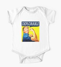 deplorable trump One Piece - Short Sleeve