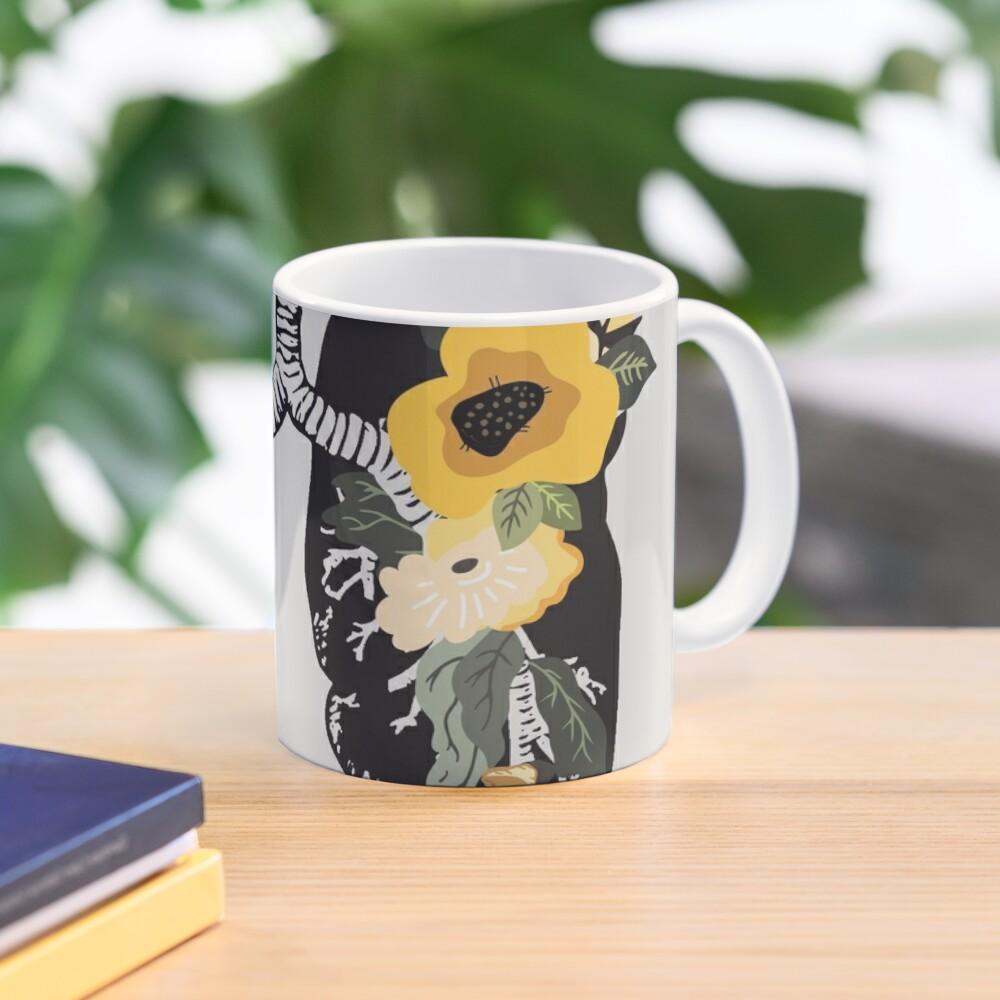 Sing Anatomical Floral Lungs Mug