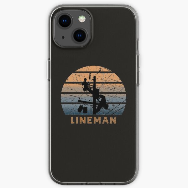 Lineman and  electrician master craftsman funny gift   iPhone Soft Case